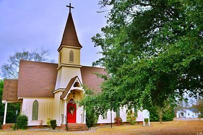 Photograph - The Episcopal Church Of The Ridge-grace Episcopal Church 2 by Lisa Wooten