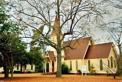 Photograph - The Episcopal Church Of The Ridge-grace Episcopal Church 3 by Lisa Wooten