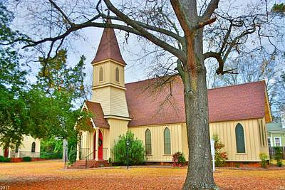 Photograph - The Episcopal Church Of The Ridge-grace Episcopal Church by Lisa Wooten