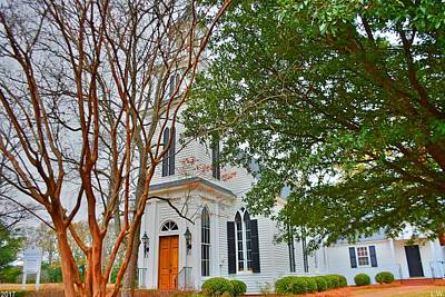 Photograph - The Episcopal Church Of The Ridge-the Episcopal Our Savior 2 by Lisa Wooten