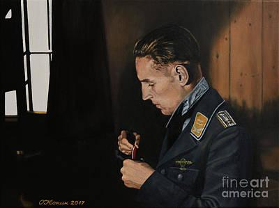 Painting - The Erich's Cross by Oleg Konin