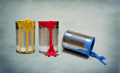 Paint Cans Photograph - The Great Escape by Maggie Terlecki