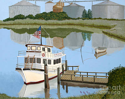 The Essence Of Tappahannock Art Print by Jennifer  Donald