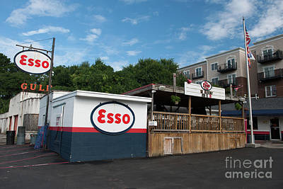 Photograph - The Esso Club by Dale Powell