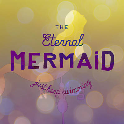 Digital Art - The Eternal Mermaid V3 by Brandi Fitzgerald