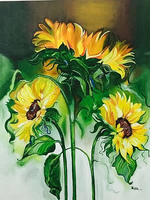 The Ethereal Sunshine Original by Nidhi Gupta