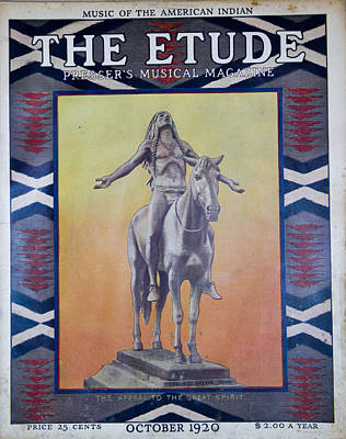 Photograph - The Etude Musical Magazine by Roger Mullenhour