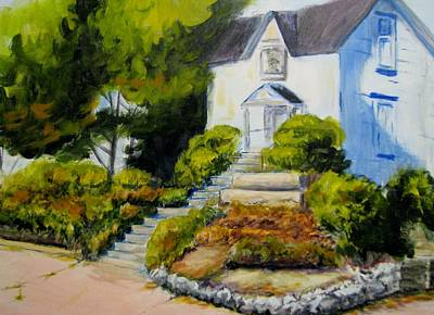 Painting - The Eureka Heritage Society by Patricia Kanzler