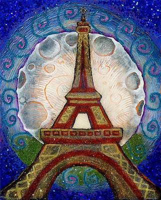 Painting - The Evening Of A Ready-wish Upon A Parisian High Point by Corey Habbas