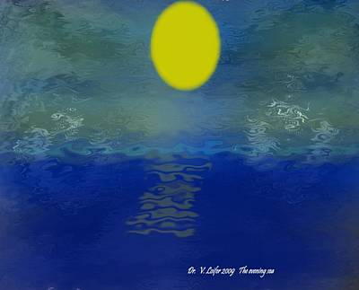 The Evening Sea Art Print by Dr Loifer Vladimir