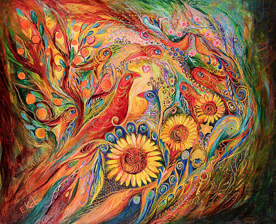 The Evidence Of Miracle Art Print by Elena Kotliarker