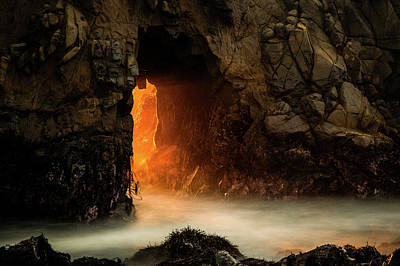 Pfeiffer Beach Photograph - The Exit by Edgars Erglis