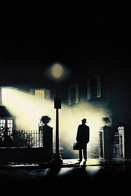 The Exorcist, Poster Art, 1973 Art Print by Everett