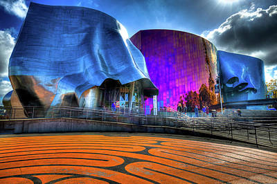Photograph - The Experience Music Project by David Patterson
