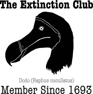 Dodo Digital Art - The Extinction Club - Dodo by Marcus England