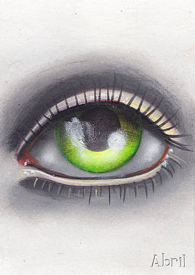 Painting - The Eye by  Abril Andrade Griffith