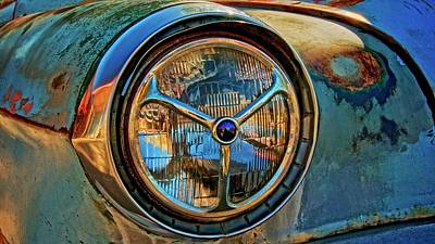 Photograph - The Eye Of A Rusting '53 Chevy by Flying Z Photography by Zayne Diamond