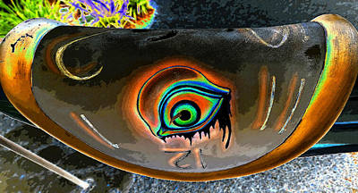 The Eye Of Dali Art Print by David Lee Thompson