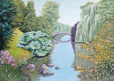 Painting - The Eye Of The Garden by Arie Van der Wijst