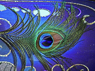 Photograph - The Eye Of The Peacock by Elizabeth Hoskinson