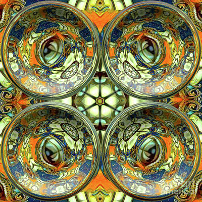 Digital Art - The Eyes Have It by Kathy Kelly