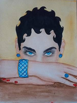 Tapestry - Textile - The Eyes Have It by Patricia Voelz