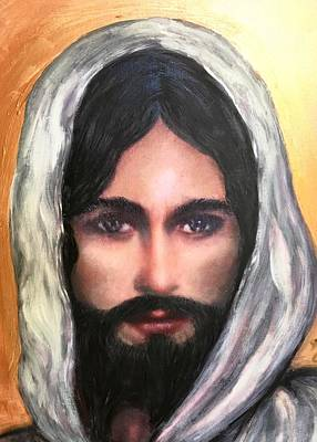 The Eyes Of Jesus Original by Cena Caterine