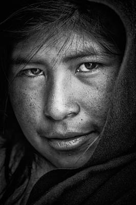 Teenager Photograph - The Eyes by Stefan Nielsen