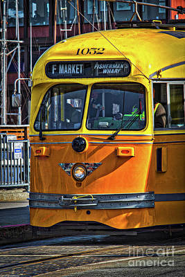 Photograph - The F Car by Mitch Shindelbower