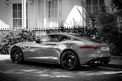 Photograph - The F-type Jaguar by Mark Rogan