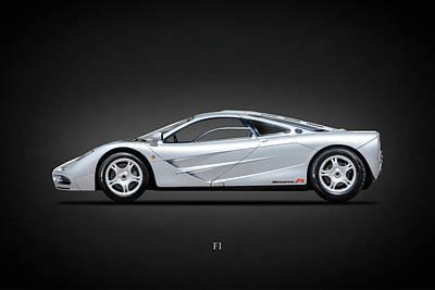 Photograph - The F1 Supercar by Mark Rogan