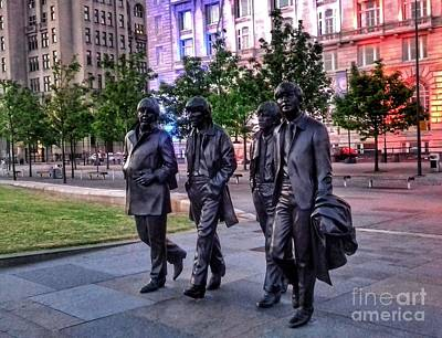 Photograph - The Fab Four by Joan-Violet Stretch