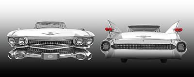 Photograph - The Fabulous '59 Cadillac by Gill Billington