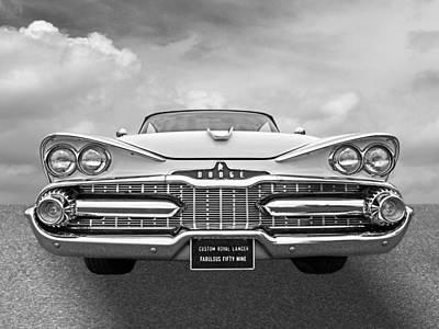 Photograph - The Fabulous Fifty Nine Dodge by Gill Billington