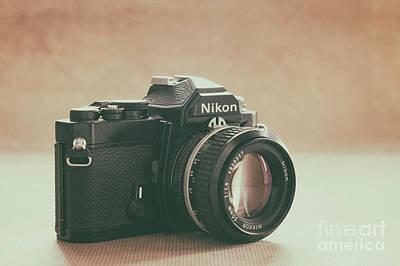 Art Print featuring the photograph The Fabulous Nikon by Ana V Ramirez