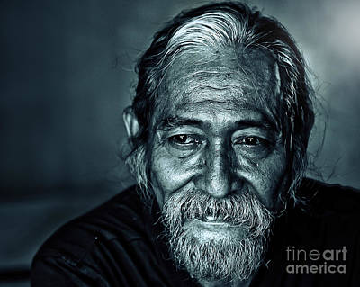 Photograph - The Face by Charuhas Images