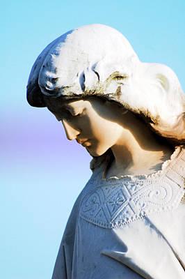 The Face Of An Angel Art Print by Susanne Van Hulst