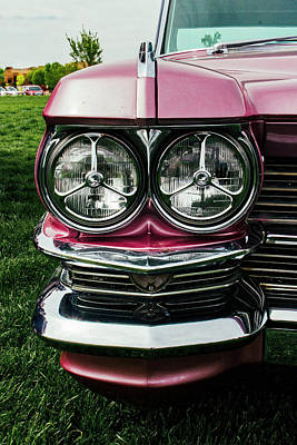Photograph - The Face Of Cadillac by Mark David Gerson