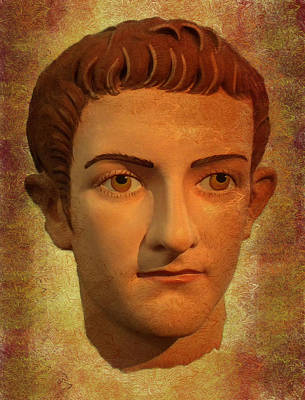 Photograph - The Face Of Caligula by Nigel Fletcher-Jones