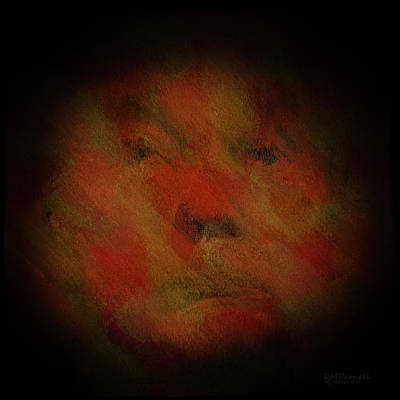 Potus Digital Art - The Face Of Insanity by Diane Parnell