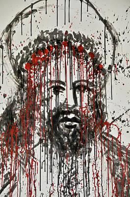 The Face Of Jesus Original by Luigi Petro
