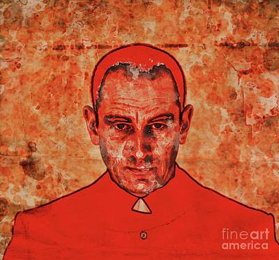 Atheist Digital Art - The Face Of Mother Church By Mary Bassett by Mary Bassett