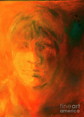 Digital Art - The Face by Rick Bragan