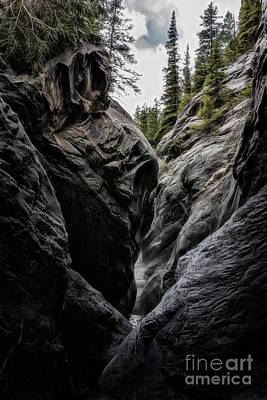 Photograph - The Faces Of Jura Creek Canyon by Brad Allen Fine Art