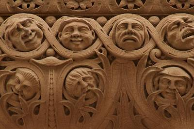 Photograph - The Faces Of Old City Hall - 1  by Hany J