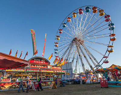 Photograph - The Fair by Shirley Radabaugh
