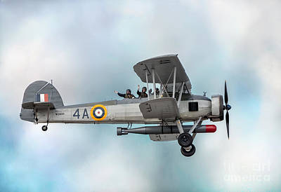 Airshow Photograph - The Fairey Swordfish by Adrian Evans