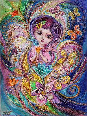 The Fairies Of Zodiac Series - Pisces Original by Elena Kotliarker