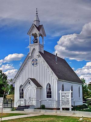 Photograph - The Fairplay Church by Ken Smith