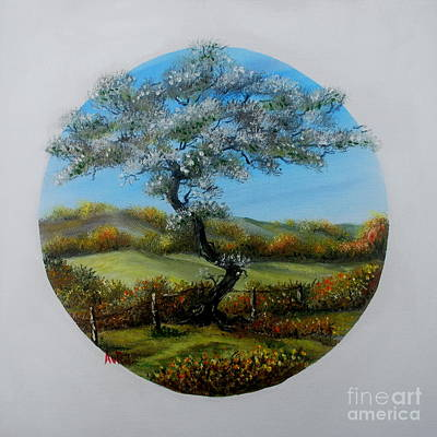The Fairy Tree Print by Avril Brand